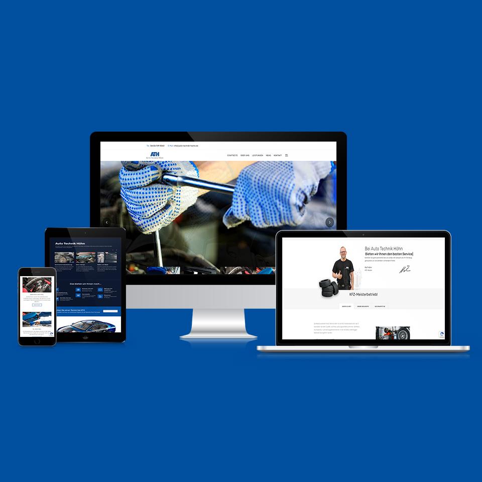 Auto-Technik-Höhn Webdesign - Erstellung einer Webseite