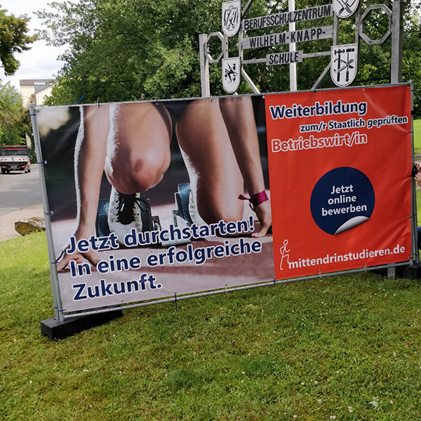 Werbebanner & Plakate