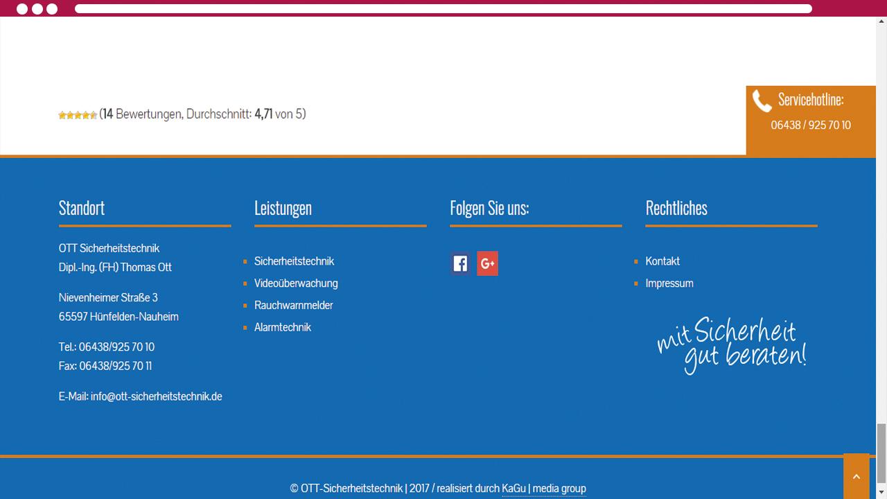 Browser-Ansicht-Ott-Sicherheitstechnik-2