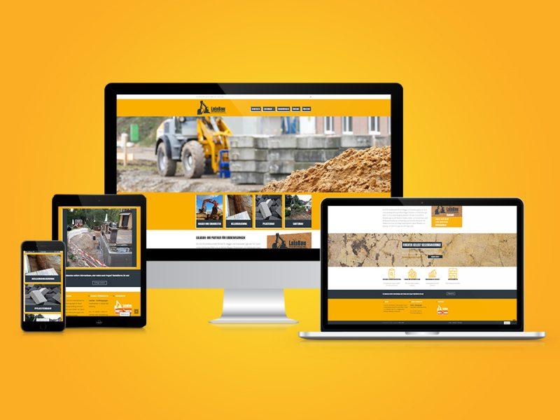 LalaBau-Erdbewegungen-Webdesign-und-SEO-Suchmaschinenoptimierung