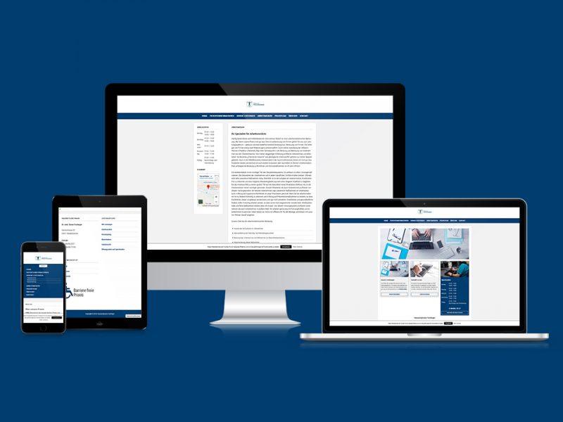 Webseite-Hausarztpraxis-Fachinger-Niederbrechen-Webdesign