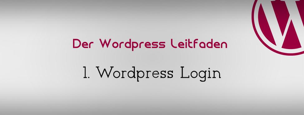 wordpress-leitfaden-login