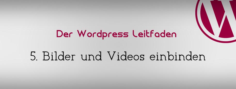 wordpress-medien-einbinden