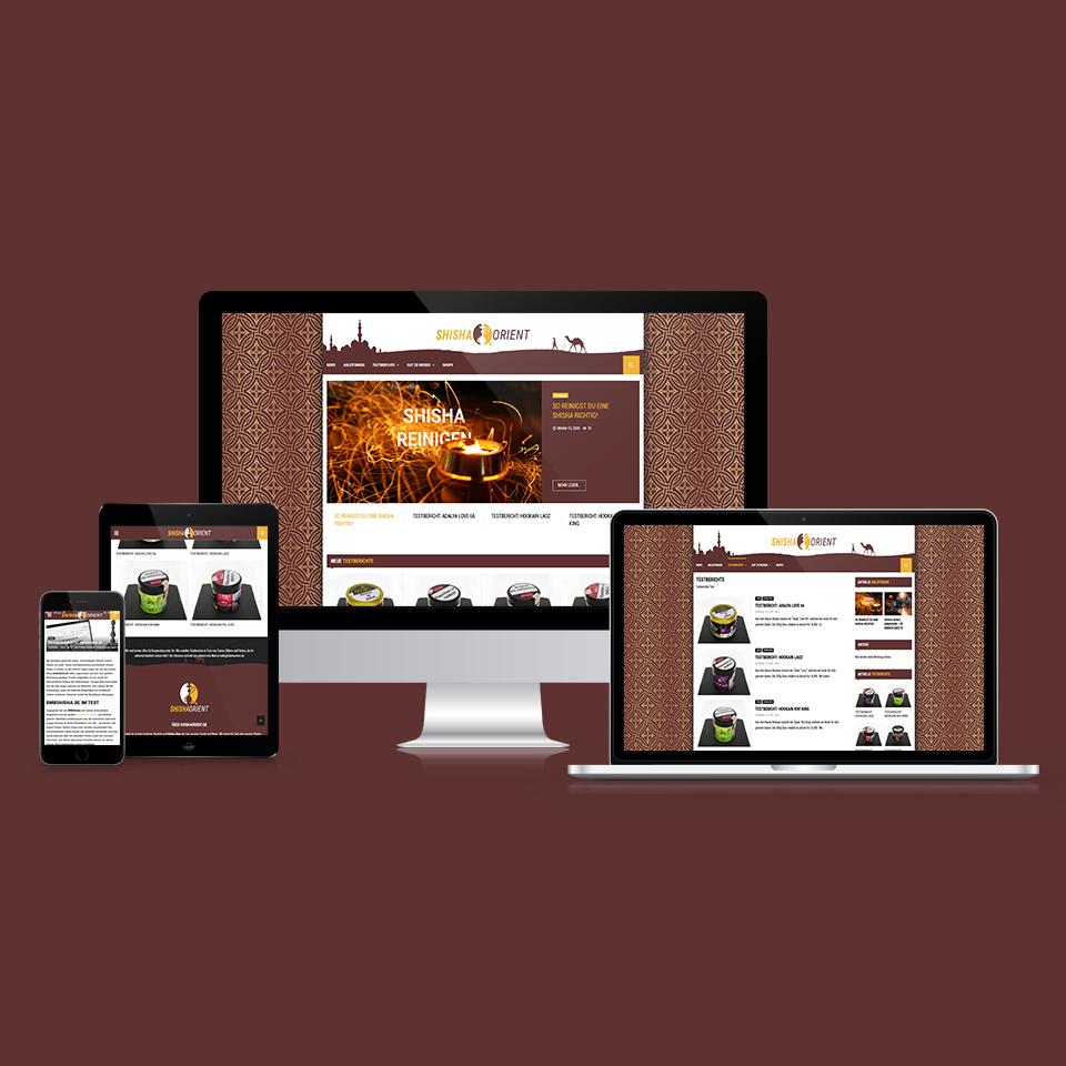Responsive Webdesign ShiShaOrient