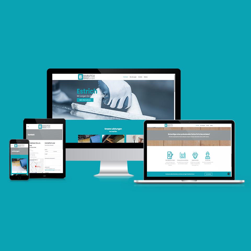 Responsive Webdesign Barutcu-Bau